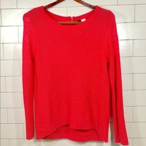 H&M Neon Knit Sweater